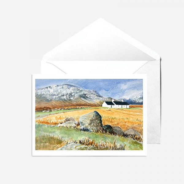 Crofters' Cottages - Card